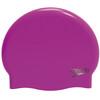 speedo Plain Moulded Bathing Cap pink